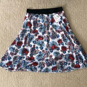 Lula Roe Lola Skirt - With Tags XL